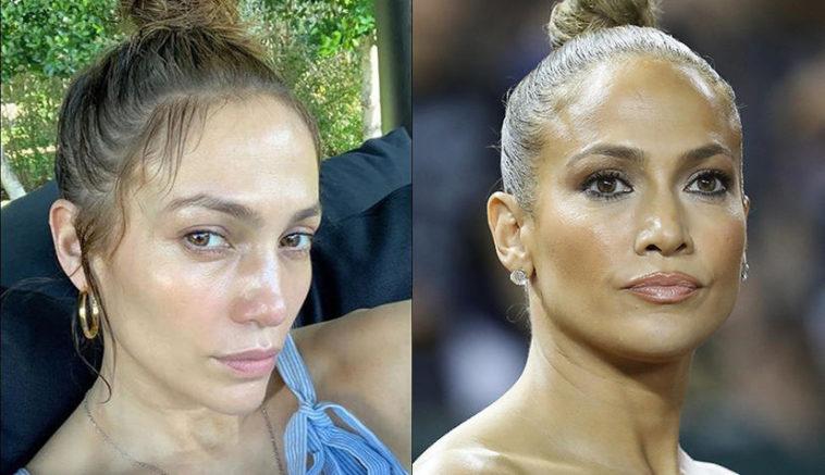 Jennifer Lopez Ohne Schminke